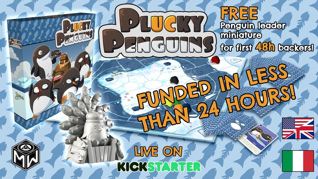 Plucky Penguins project video thumbnail