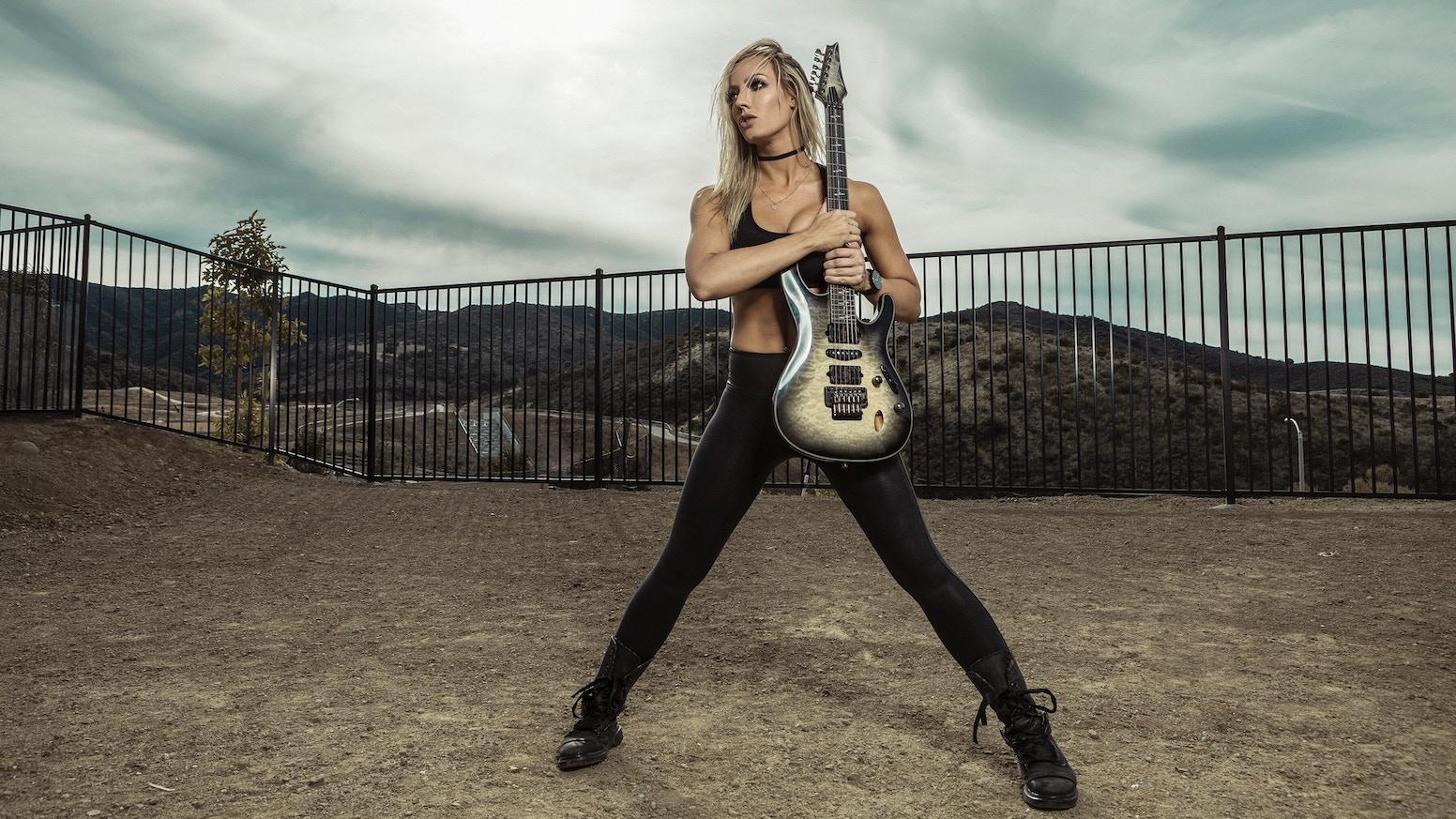 Nita Strauss Debut Solo Album By Nita Strauss Kickstarter