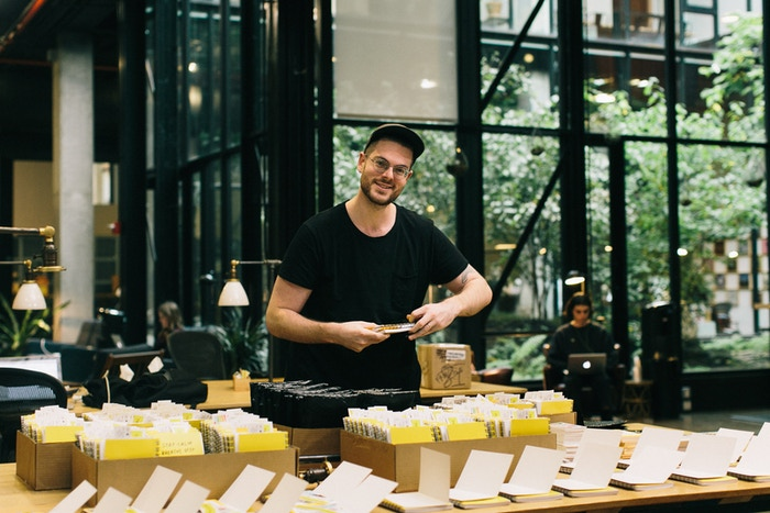 Designer, author, and artist Adam J. Kurtz