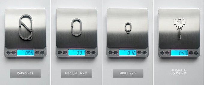 All MSTR LINX weigh just a fraction of an ounce!