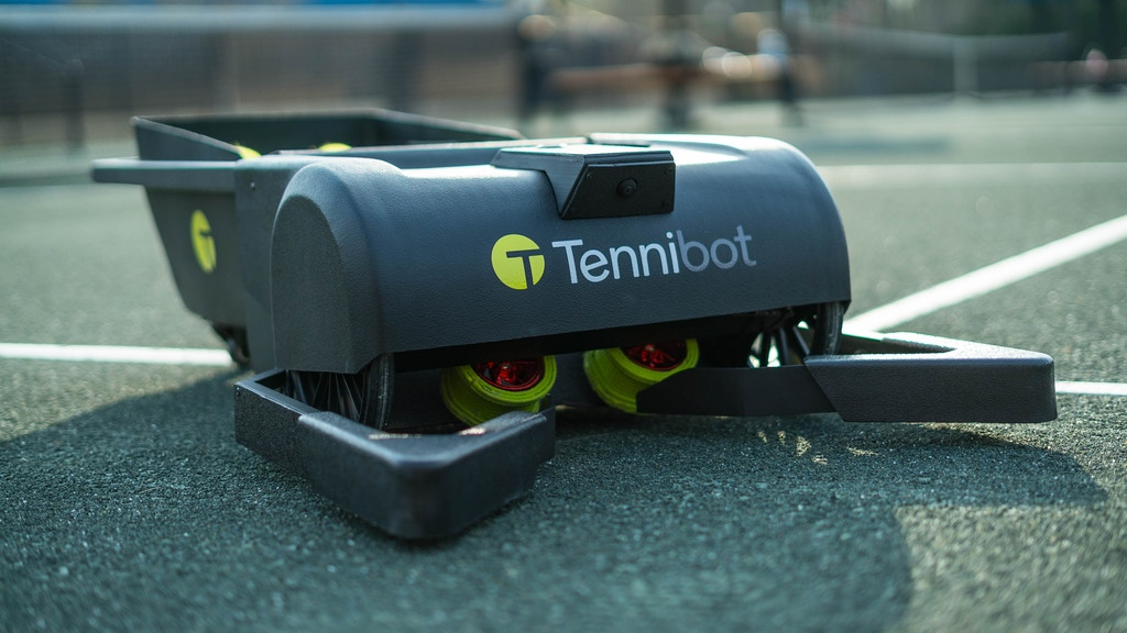 Tennibot: The World's First Robotic Tennis Ball Collector project video thumbnail