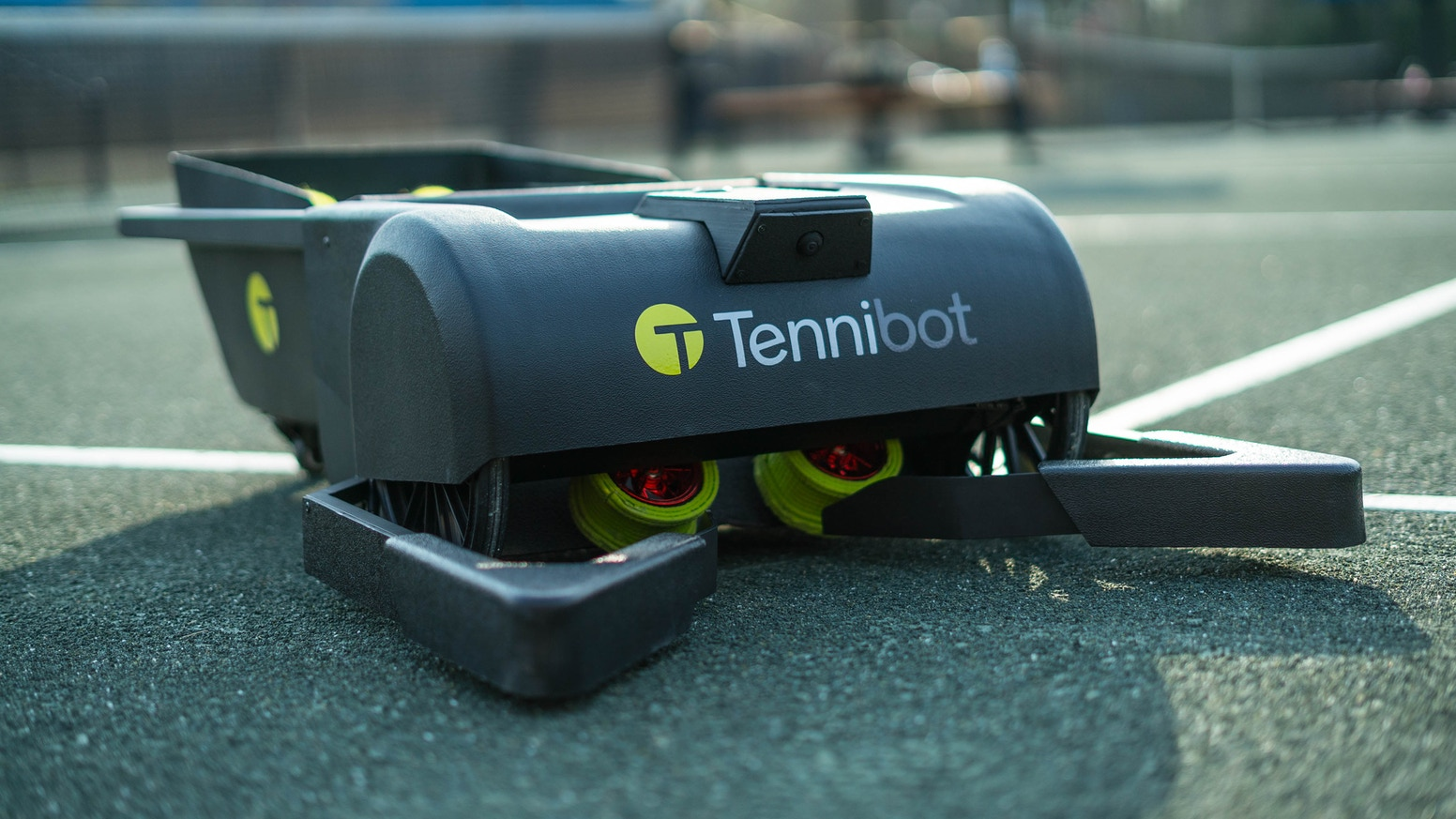Autonomous & intelligent robot saves players and coaches time by eliminating the tedious task of collecting tennis balls!