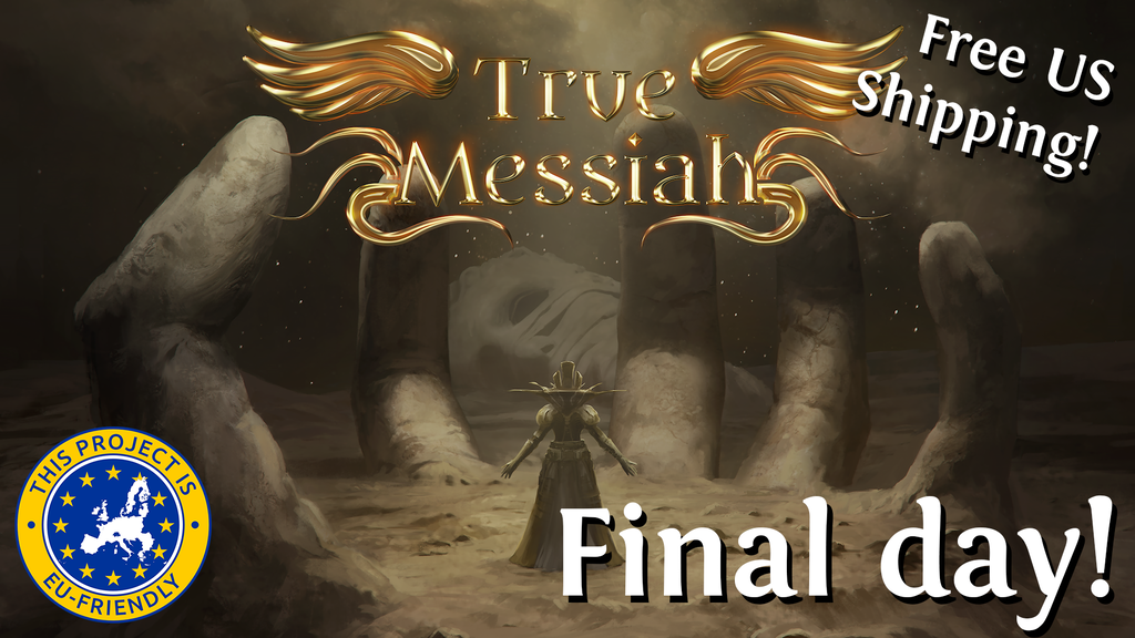 True Messiah, a game of post-apocalyptic cult warfare project video thumbnail