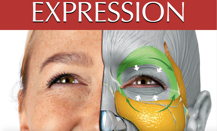 Anatomy for Sculptors' new book of Anatomy of Facial Expression with 3D model images for CG Artists, Sculptors, Painters and Illustrators