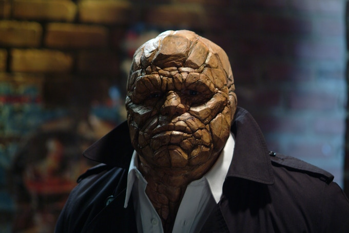 "Unused ""Thing"" Concept for Fantastic Four"