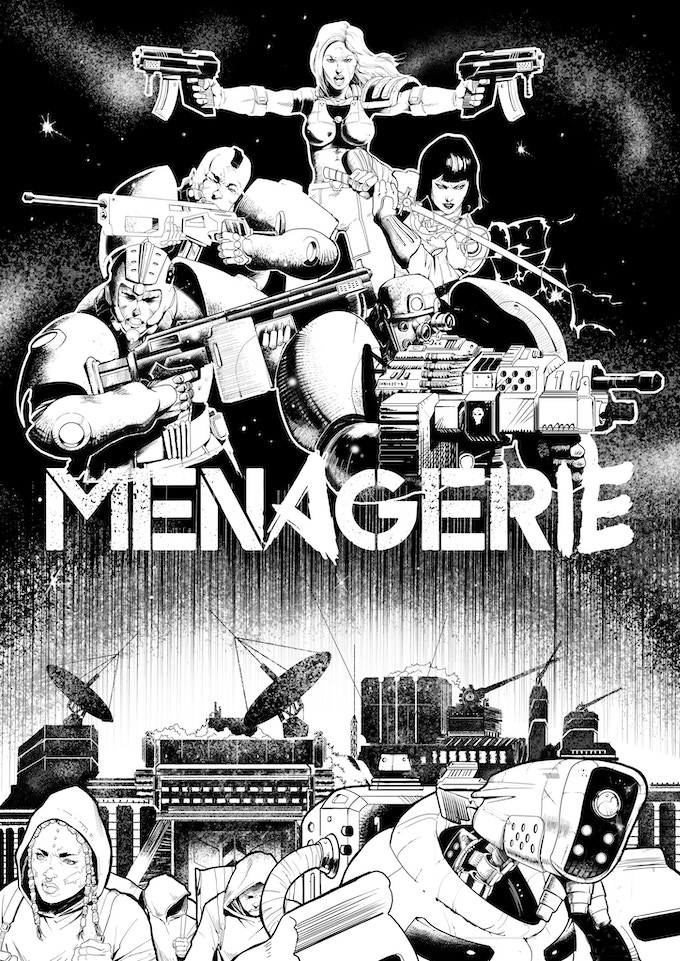 Menagerie Variant Cover A [Color In Progress, Ready May 5th]