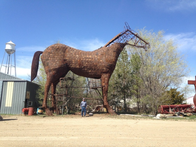 The Horse in Progress
