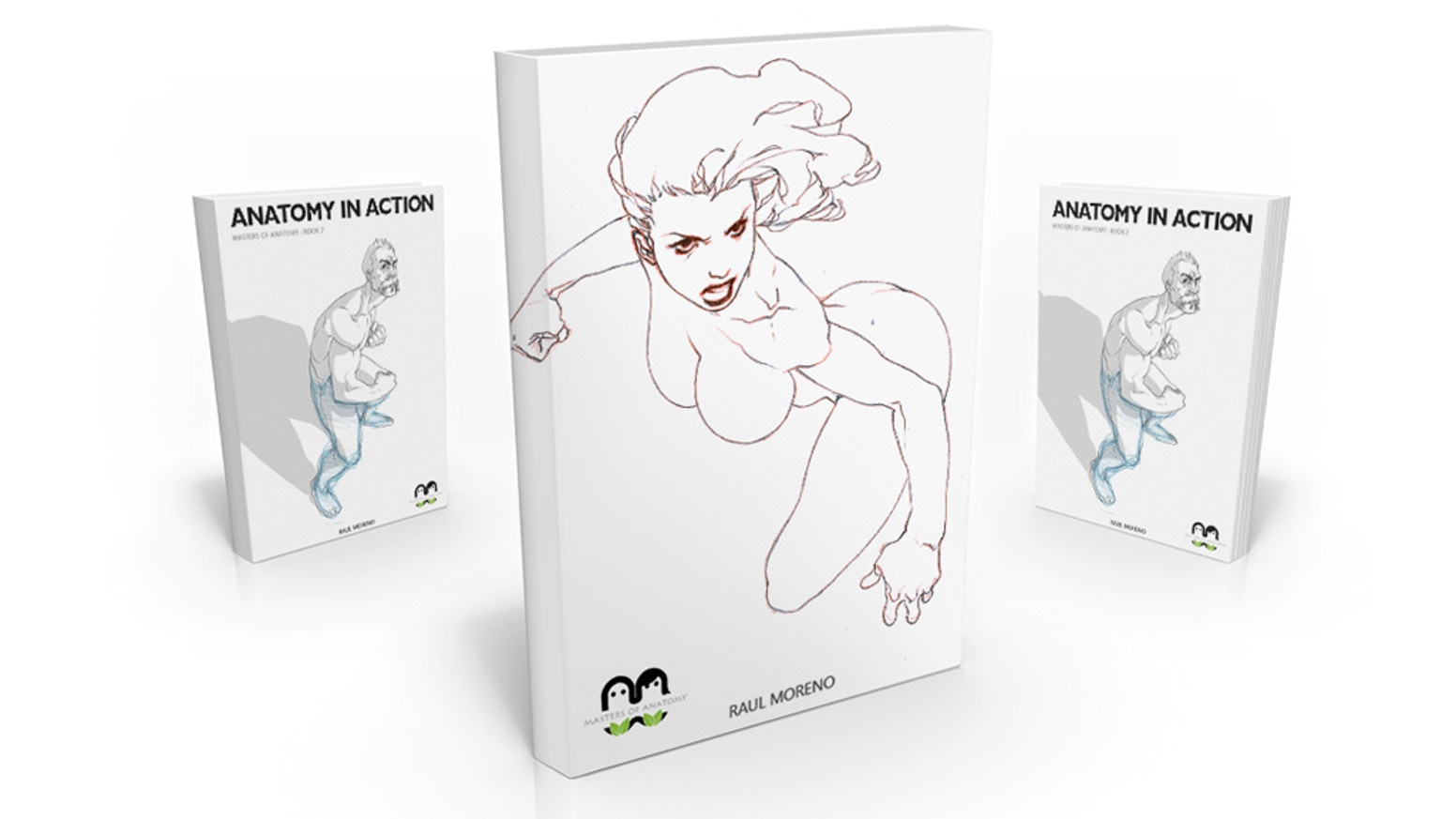 Female Action Poses Relaunch By Masters Of Anatomy Kickstarter