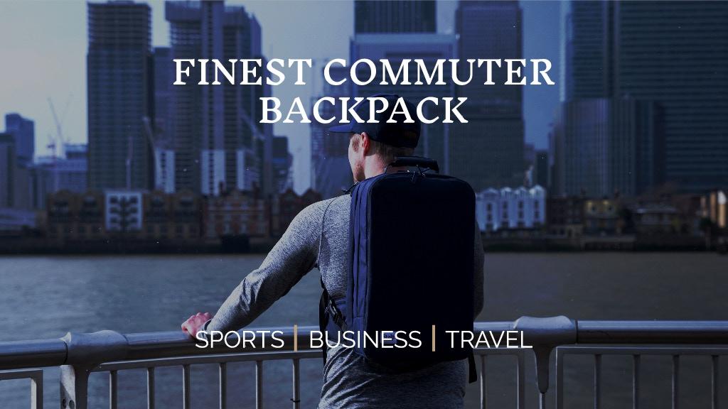 Stolt Alpha - Finest Commuter Bag for Active Professionals project video thumbnail