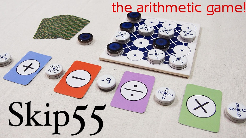 Skip55 the arithmetic board game project video thumbnail