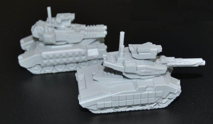 Here are the production quality miniatures.