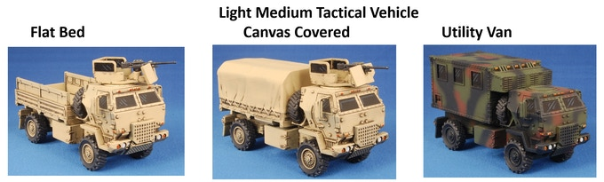 One of each LMTV and one of each FMTV