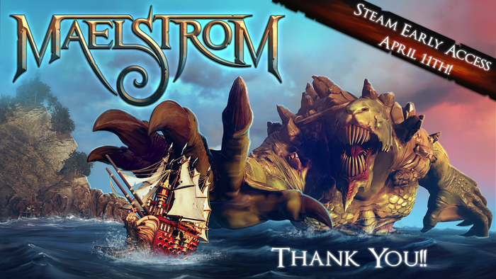 Grim fantasy combines with thunderous naval combat in a vibrant, monster-saturated world!