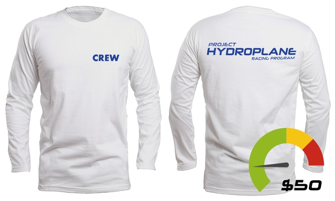 "Long Sleeve PHRP ""CREW"" UV T-Shirt (Youth and sizes available)"