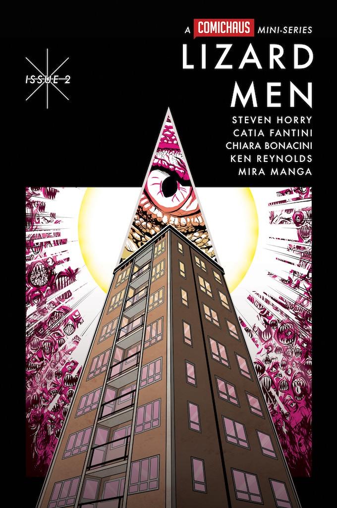 Lizard Men #2 cover