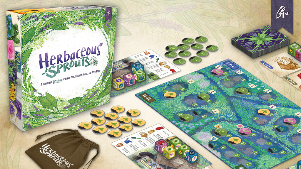 Herbaceous Sprouts: A Flavorful Dice Game