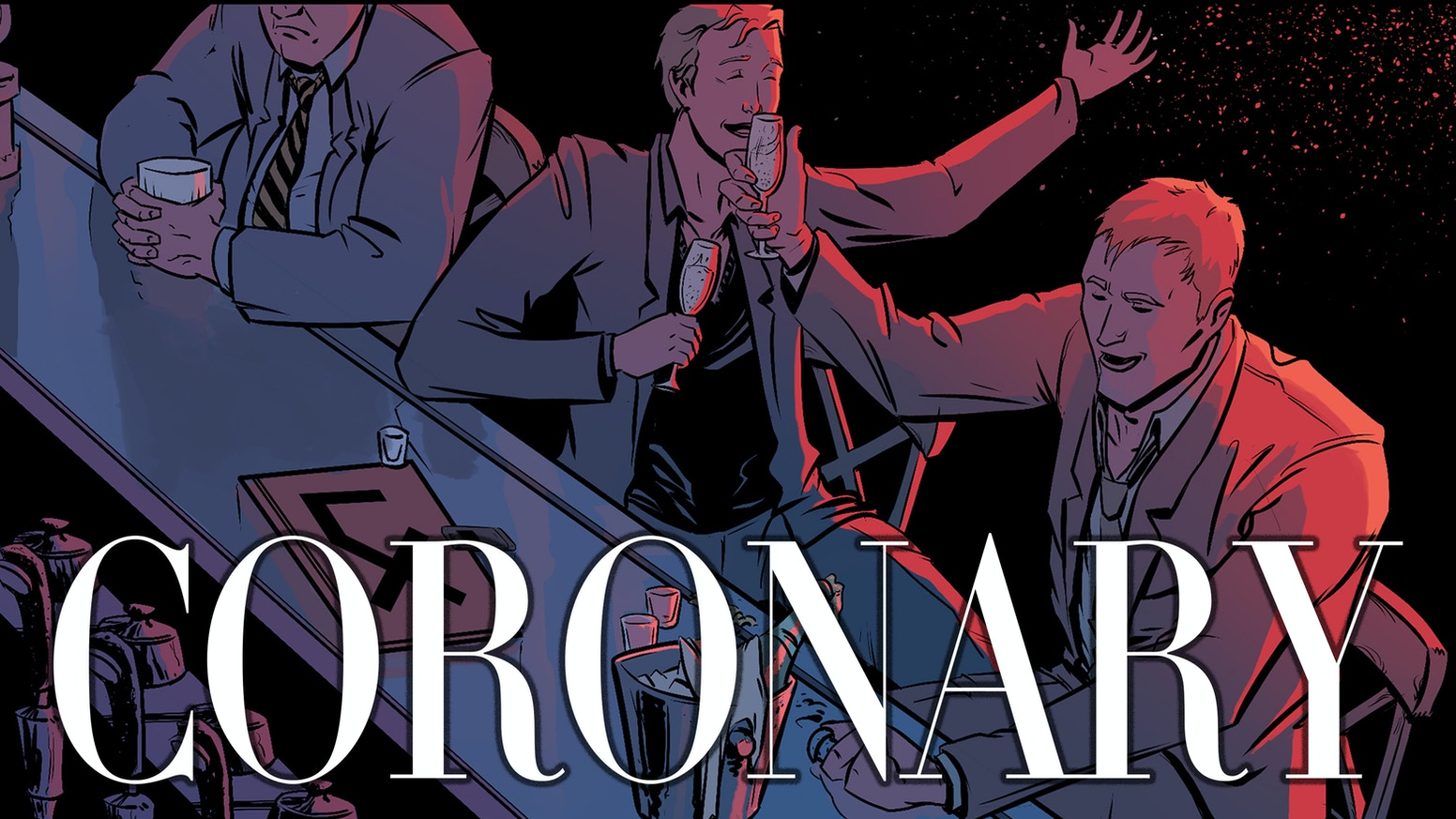 Black Mirror meets Romeo and Juliet in the action romance comic, Coronary. Episodes 1-3 are available now!