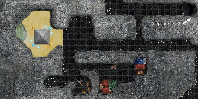 Mine map for Darkshelf Quarry