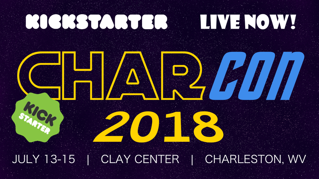 CharCon Game Convention - July 13-15, 2018 - Charleston, WV project video thumbnail