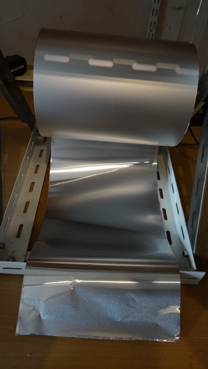 feuille d'aluminium thermocollante