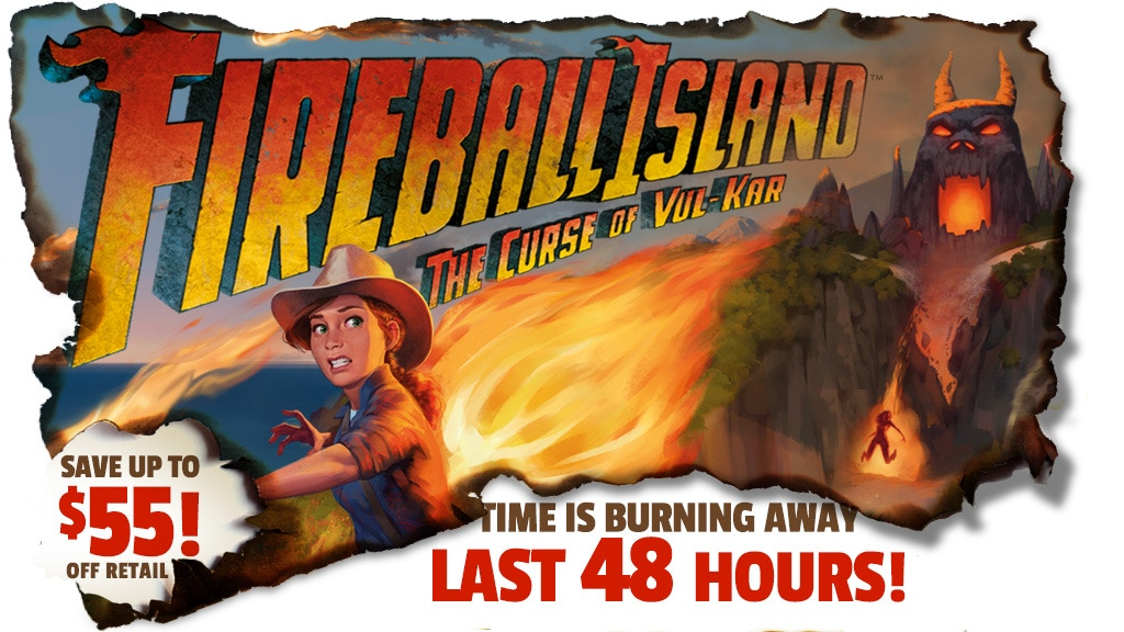 Fireball Island - 80's Board Game, Reignited and Restored project video thumbnail