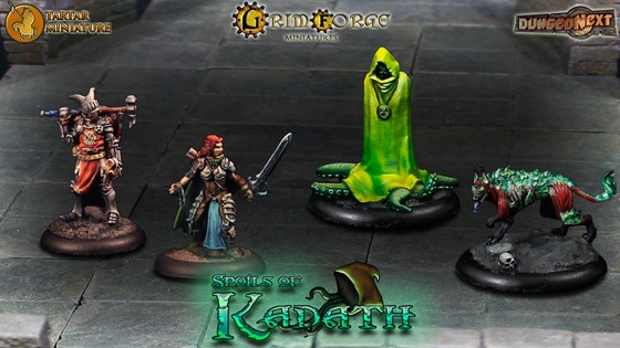 Spoils of Kadath miniatures game