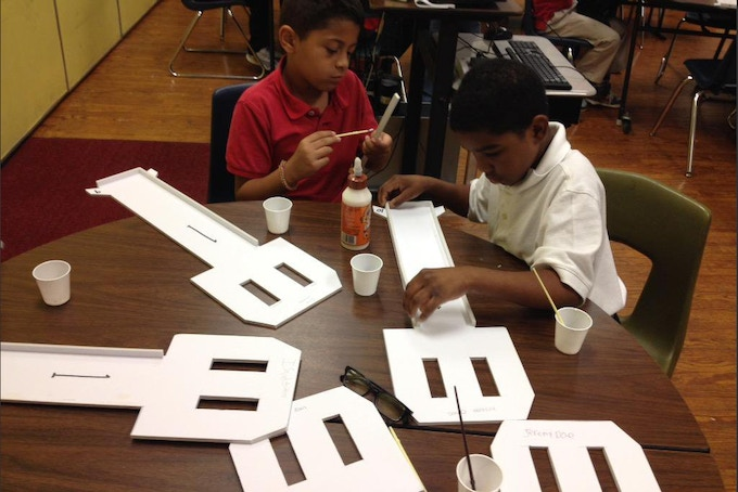 The PHRP curriculum immerses students in math, science and literacy.