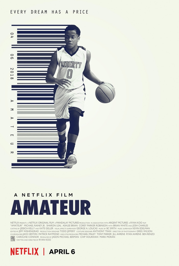 AMATEUR is a Netflix Original Film, available now worldwide!