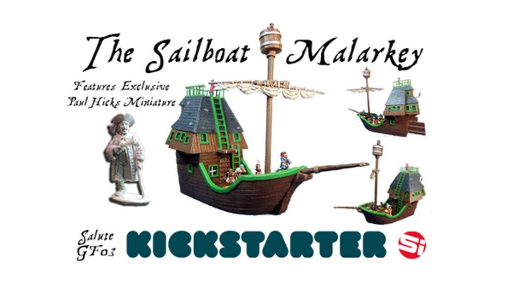 The Sailboat Malarkey - 28mm Pirate Ship project video thumbnail