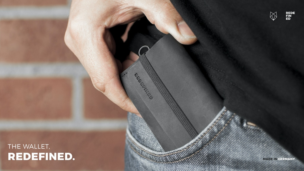 REDEFINED - The Perfected Wallet Series.
