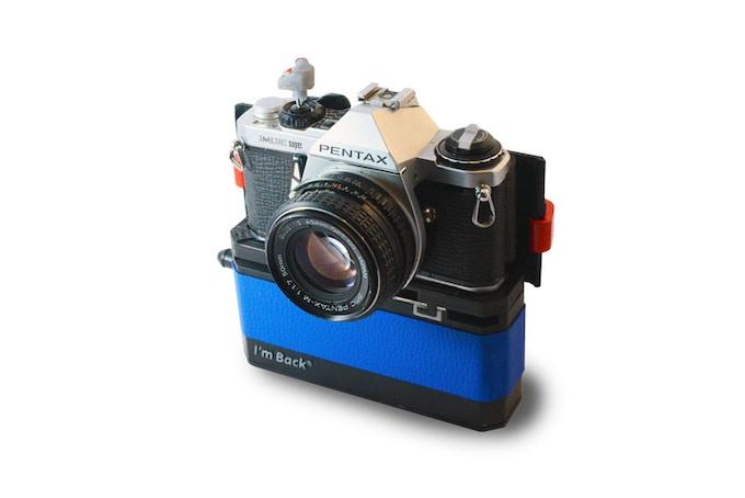 Pentax ME Super 50mm f1.7 + Im Back®