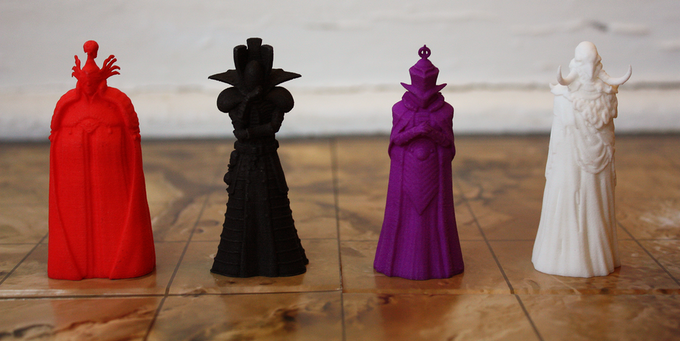 Shown: 3D printed prototypes.