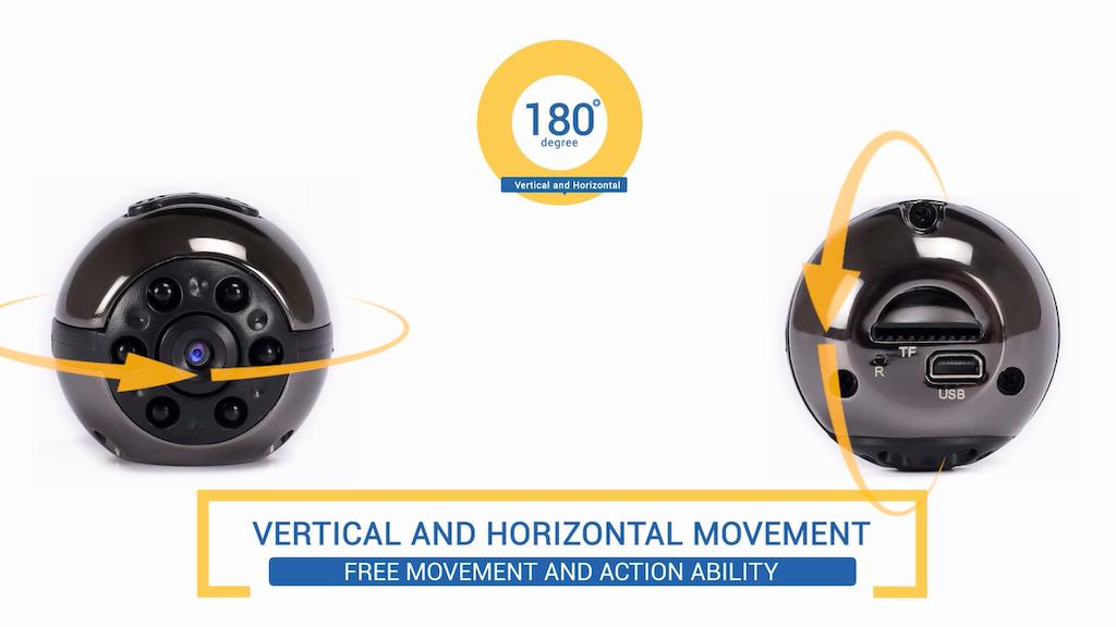 """Cambock"" Unique Model HD Action Remote Control Camera project video thumbnail"