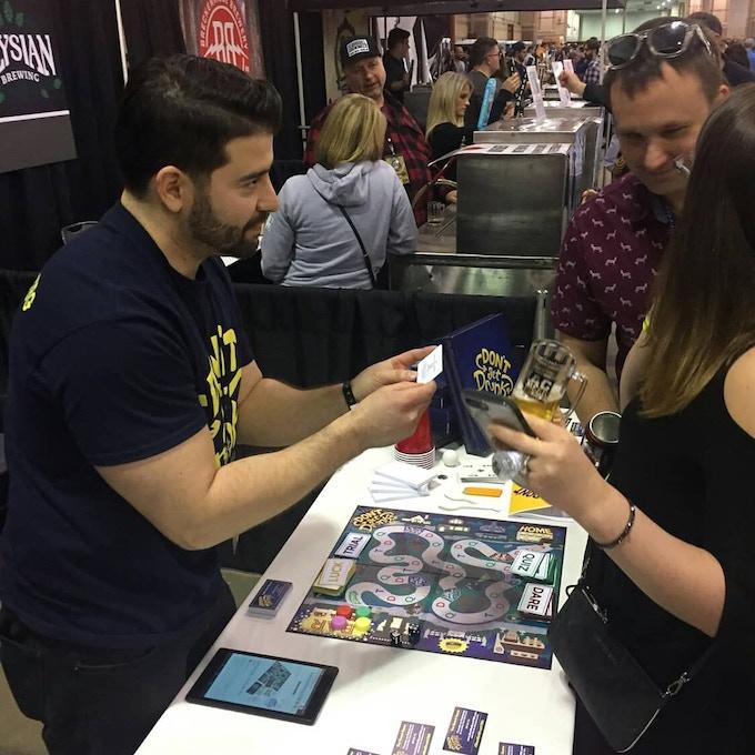 Game Demo at A.C. beer Fest