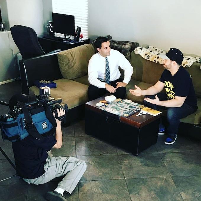 Channel 13 Interview