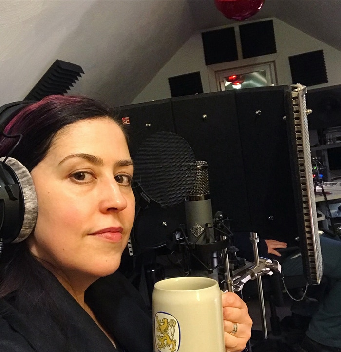 Last night: vocals and tea