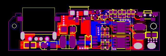 Circuit board of battery