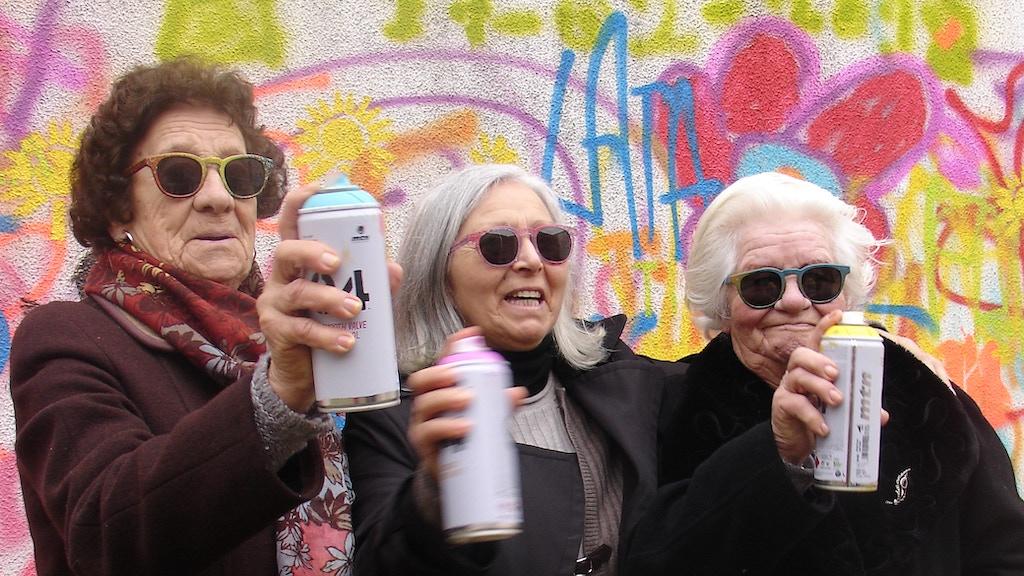Graffiti Grandmas: eyewear for intergenerational creativity project video thumbnail