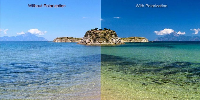 By neutralizing glare, polarized lenses make colours and images more vibrant.