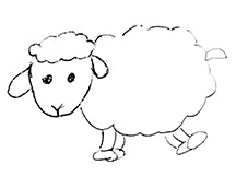 Mérino wool felted