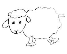 Laine feutrée de mouton Mérinos