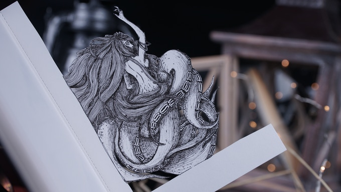 Fine Art with Paper Cutting