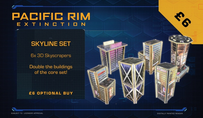 Double up on the buildings from the core set with this optional buy.