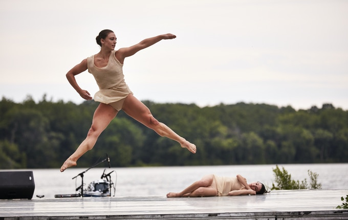 "Morgan Anderson in ""Lift Up"" at Warwick Summer Arts Festival. Photo: Argenis Appolinario."