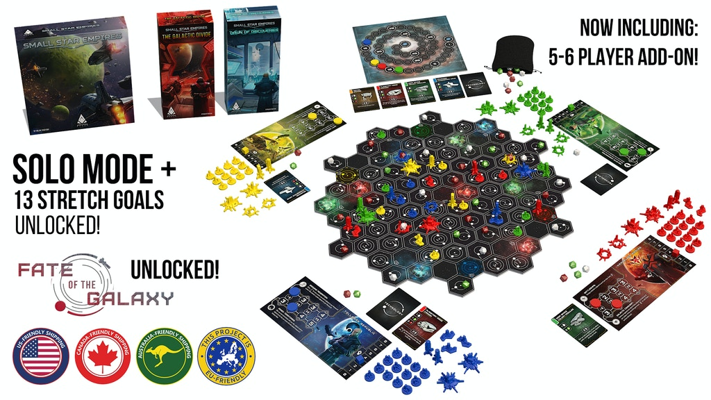 Small Star Empires 2nd Edition + Two Expansions project video thumbnail