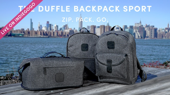 Wool Oak S Iconic Duffle Backpack Now With A Water Resistant Luxury