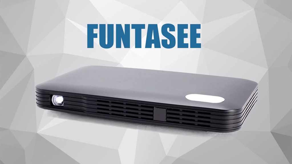 FuntaSee:The First-ever 4G Portable Projector project video thumbnail