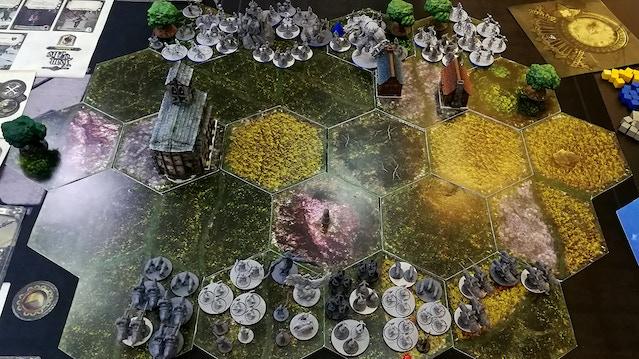 Les armées se déploient avant l'affrontement !
