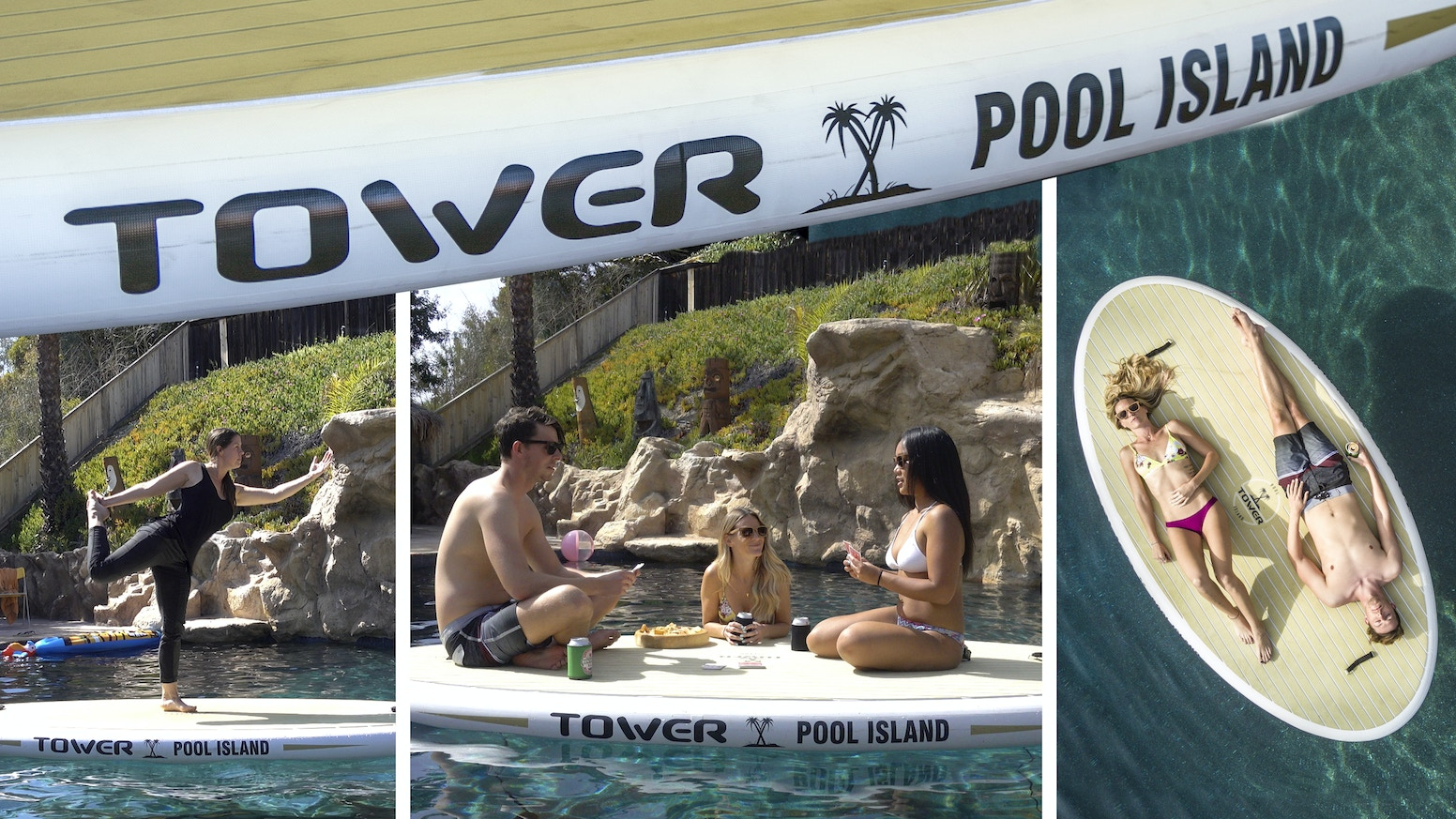 Tower Pool Island