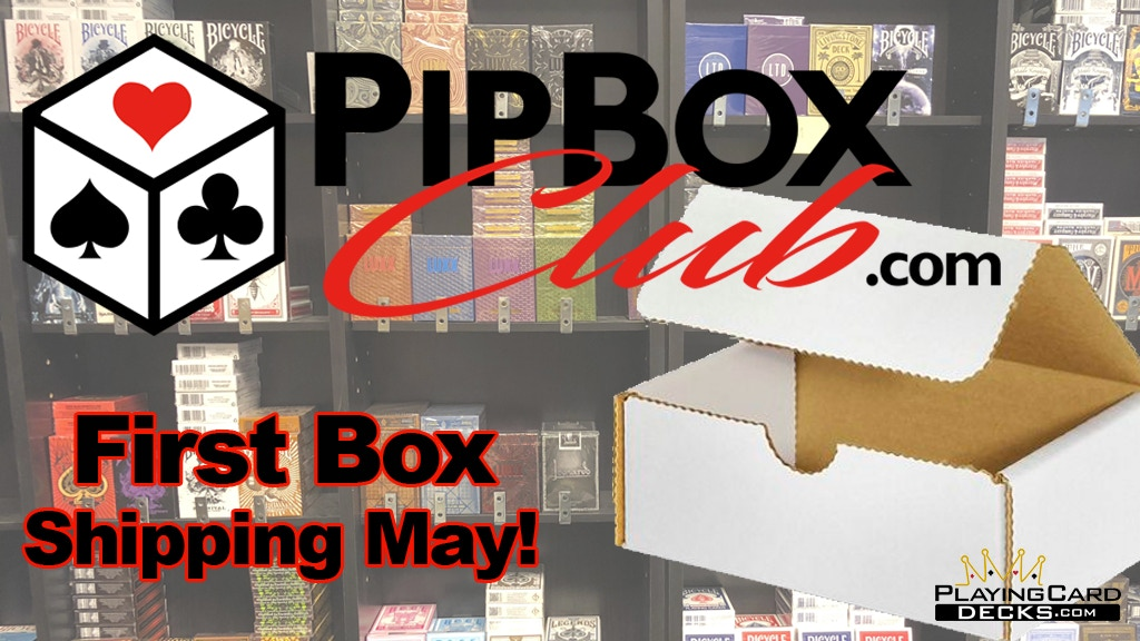Pip Box Club -Monthly Playing Card Deck Subscription Service project video thumbnail